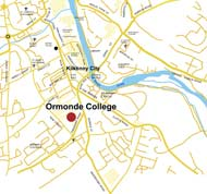 Click to view map to the school and Ormonde College area